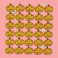 Antique German Halloween Jack O'Lantern Scrap for Doll Projects!
