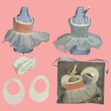 "Vintage 8"" Ginny Type Doll Tutus in Orig Box!"