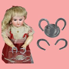 Darling Vintage Mini Doll Horseshoes Game!