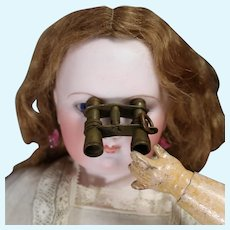 Darling Metal Binoculars for French Fashion Doll!