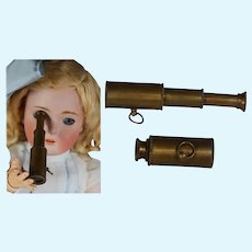 Darling Doll Sized Collapsible Telescope - Really Magnifies!
