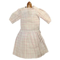 """Antique Factory Bisque Doll Dress for 14"""""""