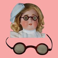 Antique Doll Eyeglasses Spectacles - Glasses for Bisque Doll or Teddy Bear!