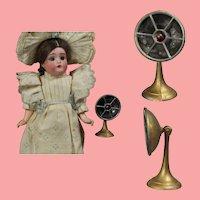 Antique Dollhouse Doll Sized Movable Fan!