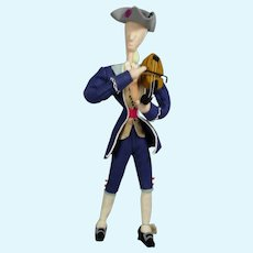 Vintage 1950s Spanish Cloth Violinist Donaty Dona Doll w Orig Tag!