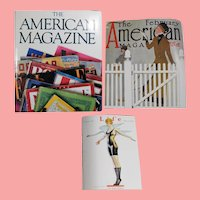 "Nice Magazine Collector Book! ""The American Magazine"" 250 Years"