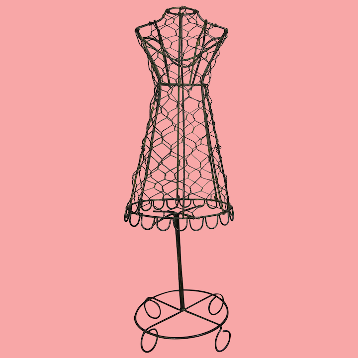 Vintage Wire Doll Dress Form Mannequin Memories Of Things Past Ruby Lane