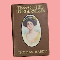 Illustrated Antique 1893 Tess of The D'Urbervilles Book Thomas Hardy