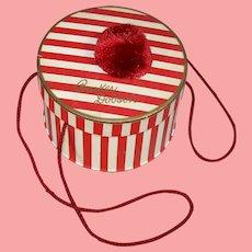 c1940s Barker Dobson Doll Advertising Hat Box!