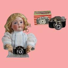 Vintage Mini Doll Sized Spy Camera with Orig Box!