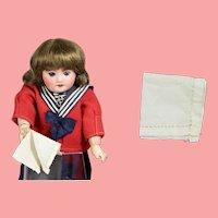 Lovely Antique Doll Handkerchief!