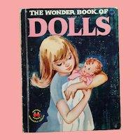 1959 Doll Children's Book! Wonder Book of Dolls!