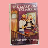 "Vintage 1945 HBDJ Judy Bolton Mystery ""The Mark on The Mirror"" Margaret Sutton Book!"