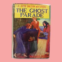 "Vintage 1940s HBDJ Judy Bolton Mystery ""The Ghost Parade"" Margaret Sutton Book!"