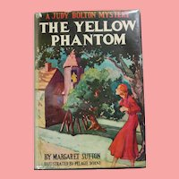 "Vintage 1940s HBDJ Judy Bolton Mystery ""The Yellow Phantom"" Margaret Sutton Book!"