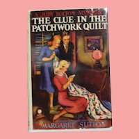 "1941 HBDJ Judy Bolton Mystery ""Clue In The Patchwork Quilt"" Margaret Sutton Book!"