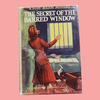 "1943 HBDJ Judy Bolton Mystery ""Secret of The Barred Window"" Margaret Sutton Book!"
