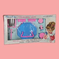 Darling Vintage Doll Girl Beauty Travel Kit MIB!