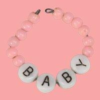 Vintage BABY Doll Name Hospital Bracelet for Tiny Tears Dydee!