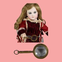 Darling Doll Mini Magnifying Glass! Really Magnifies!