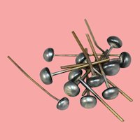 Antique Toilet Pins for Doll's Millinery Shop!