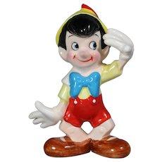 Vintage Walt Disney Japan Pinocchio Figurine!