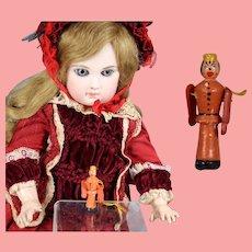 Darling Doll Dollhouse German Mini Wood BELLHOP Erzgebirge WHW Charity!