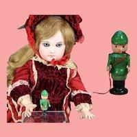 Darling Doll Dollhouse German Mini Wood HUNTER Erzgebirge WHW Charity!