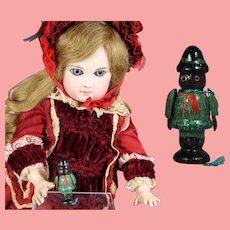 Darling Doll Dollhouse German Mini Wood BOY SCOUT Erzgebirge WHW Charity!