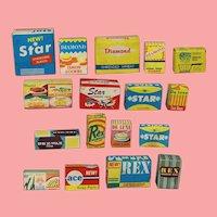 Vintage 1963 Deluxe Reading Barbie Doll Dream Kitchen Mini Accessories!