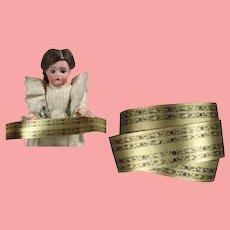 Antique German Dollhouse Roombox Wallpaper Border Trim!