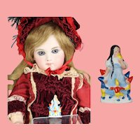 """1930s German Bisque Doll Sized """"Snow White"""" WHW Charity Figurine"""