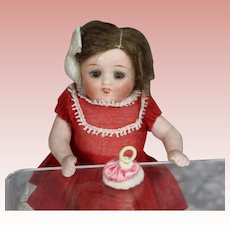French Mini Doll Powder Puff for All Bisque Size!