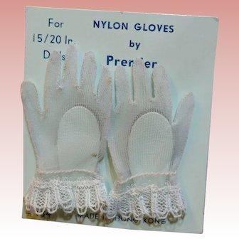 Vintage Premier CISSY Doll Gloves on Card!