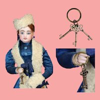 Darling Mini Doll Skeleton Keys for your Fashion Doll!