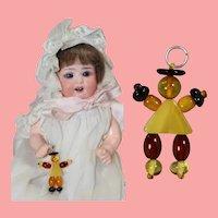 Darling Mini Doll Crib Toy for Baby Dolls!