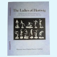 Doll Reference Book! Ladies of Hertwig Bathing Beauties Half Dolls Catalog Reprints!