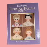New! Doll Book! Identifying German Parian Dolls - Mary Krombholz