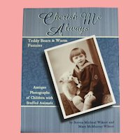 Book Cherish Me Always Antique Photographs Children Animals Teddy