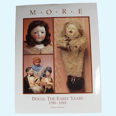 Doll Reference Book! More Dolls The Early Years 1780-1910