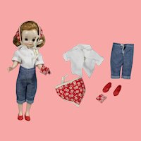 """Vintage 1950s Betsy McCall 8"""" Doll Outfit - Darling Lookalike!"""