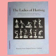 Doll Reference Book! Ladies of Hertwig Bathing Beauties Half Dolls Catalog Reprints!