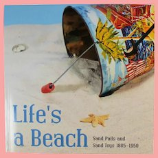 NEW! Theriault's Tin Litho Beach Sand Pails Toys Reference Book!