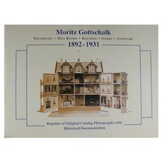 Doll Book Moritz Gottschalk Cieslik Dollhouses Roomboxes Original Catalogs!