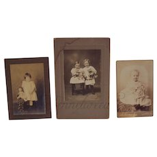 """RESERVED for """"J"""" *******   Antique Photo ~ Two Girls with Teddy Bears"""