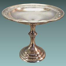 Julius Randahl Sterling Silver Compote, Pedestal Dish