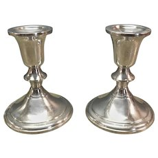 Towle Sterling Silver Candlestick Holders #732