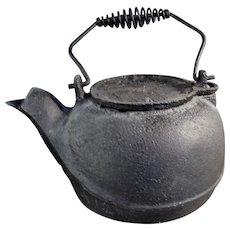 Cast Iron Black Stove Kettle