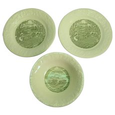 Taylor Smith Taylor Pastoral Bowl and 2 Plates