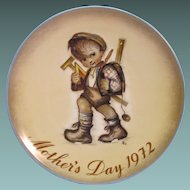 Mother's Day Plate Limited Edition Original Collector Series 1972